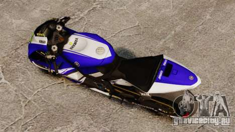 Yamaha YZR-M1 для GTA 4 вид сзади слева