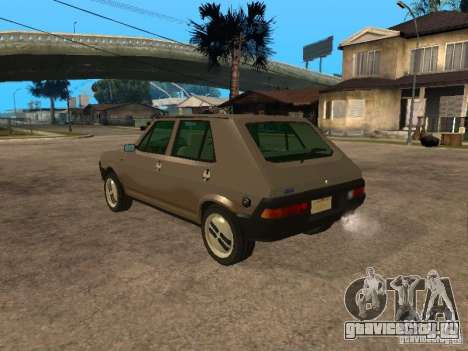 Fiat Ritmo для GTA San Andreas вид слева