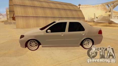 Fiat Albea для GTA San Andreas вид слева