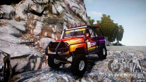 Уаз Hunter Trial v1.0 для GTA 4