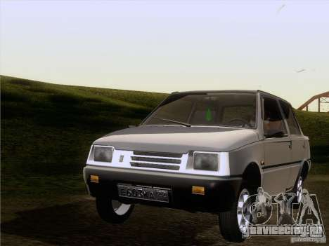 ВАЗ 1111 Ока Седан для GTA San Andreas вид сзади