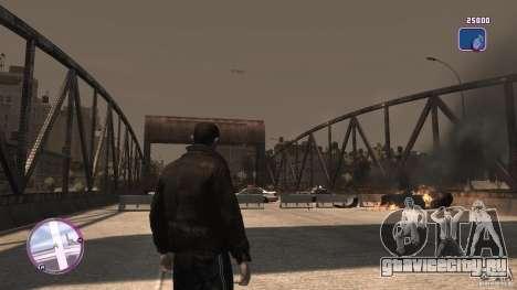 VC Style Radar/HUD (скин 2) для GTA 4 пятый скриншот