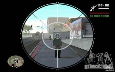 Снайпер мод v.1 для GTA San Andreas