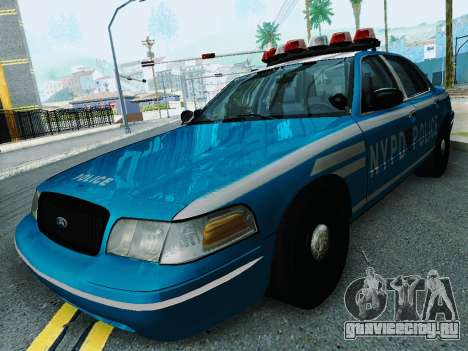 Ford Crown Victoria 2003 NYPD Blue для GTA San Andreas