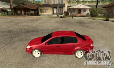 GTA IV Premier для GTA San Andreas вид слева