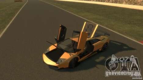 Lamborghini Murcielago VS LP 670 FINAL для GTA 4 вид изнутри