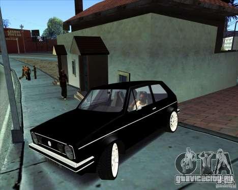Volkswagen Golf MK 1 для GTA San Andreas вид слева