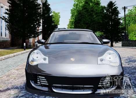 Porsche 911 Turbo S для GTA 4 вид сзади
