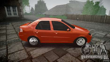 Fiat Albea Sole для GTA 4 вид изнутри