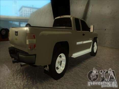 Chevrolet Silverado 3500 для GTA San Andreas вид слева