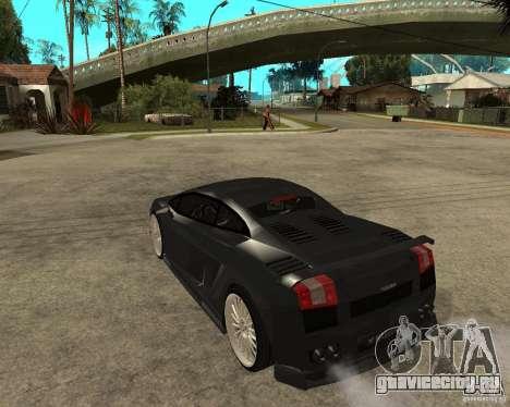 Lamborghini Gallardo HAMANN Tuning для GTA San Andreas вид слева