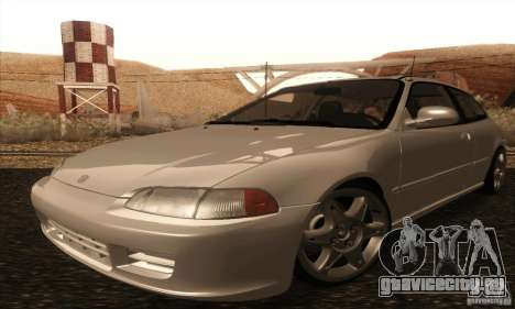 Honda Civic VTI 1994 для GTA San Andreas вид слева