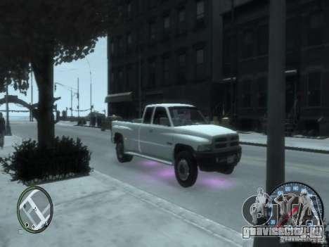 Dodge Ram 3500 для GTA 4 вид слева
