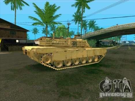 M1A2 Abrams из COD4: MW для GTA San Andreas вид слева