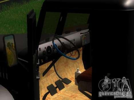 КрАЗ-255Б для GTA San Andreas вид снизу