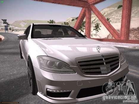 Mercedes Benz S65 AMG 2012 для GTA San Andreas вид слева