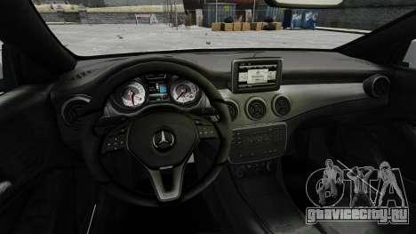 Mercedes-Benz CLA 250 2014 для GTA 4 вид сзади