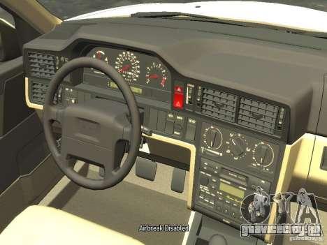 Volvo 850 R 1996 Rims 2 для GTA 4 вид изнутри
