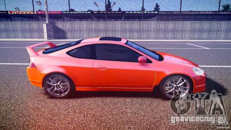 Acura RSX TypeS v1.0 stock для GTA 4 вид изнутри