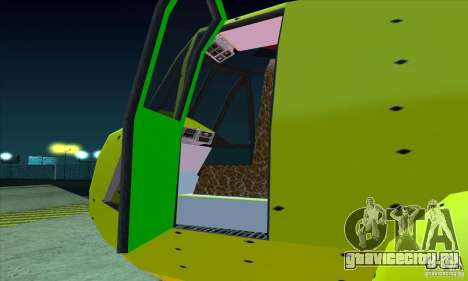 Улучшенный Leviathan для GTA San Andreas вид сзади слева
