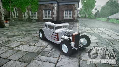 Ford Hot Rod 1931 для GTA 4 вид изнутри