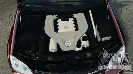 Mercedes-Benz ML63 (AMG) 2009 для GTA 4 вид снизу