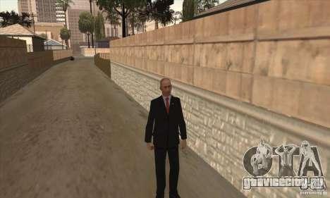 Владимир Владимирович Путин для GTA San Andreas третий скриншот