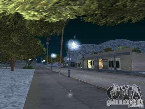 Снег для GTA San Andreas четвёртый скриншот