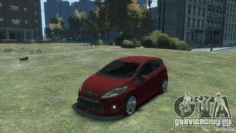 Ford Fiesta для GTA 4