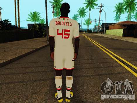 Марио Балотелли v2 для GTA San Andreas