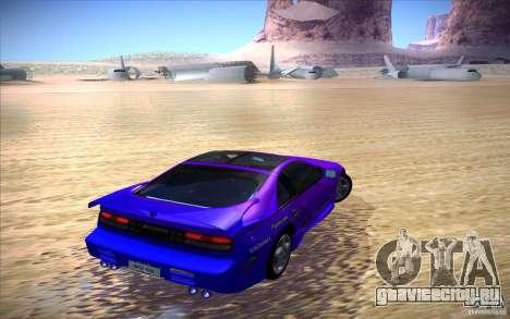 Nissan 300ZX Twin Turbo для GTA San Andreas вид сверху