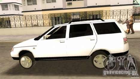 ВАЗ 2111 для GTA Vice City вид сбоку