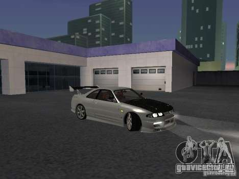 Nissan Skyline R33 SGM для GTA San Andreas вид сзади
