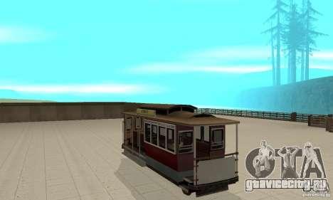 Tram для GTA San Andreas вид справа