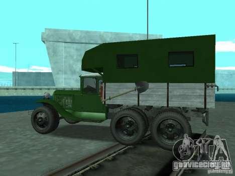 ГАЗ ААА для GTA San Andreas вид слева