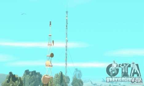 Обновлённый заброшенный аэропорт в пустыне для GTA San Andreas четвёртый скриншот
