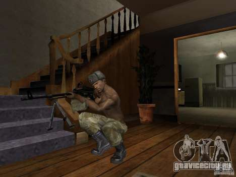 Головные уборы Call of Duty 4: Modern Warfare для GTA San Andreas восьмой скриншот