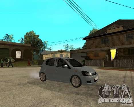 Toyota Vitz для GTA San Andreas