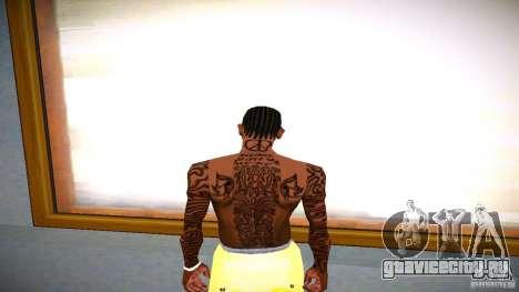 Три новых татуировки для GTA San Andreas третий скриншот