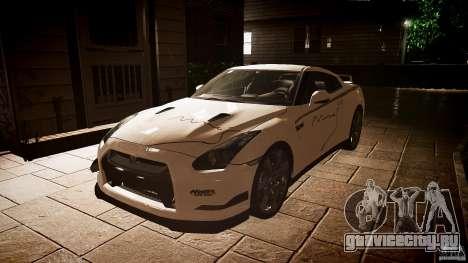 Nissan GT-R (R35) Mines 1.1 для GTA 4