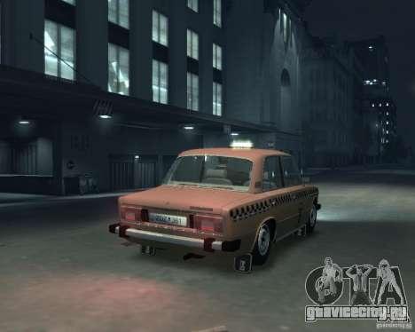 ВАЗ 2106 Такси для GTA 4 вид сзади