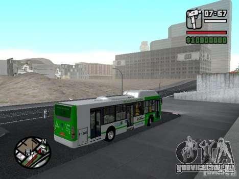 H Hibrido TUTTO 15M UPB C2 EX DR для GTA San Andreas вид справа
