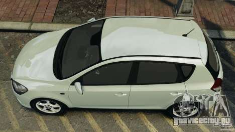 Kia Ceed 2011 для GTA 4 вид справа