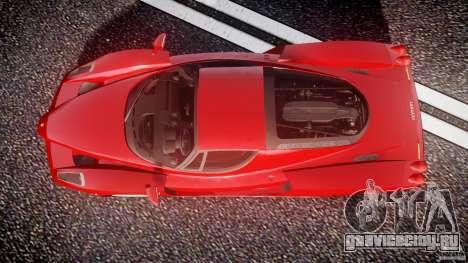 Ferrari Enzo для GTA 4 вид справа
