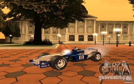 BMW F1 Williams для GTA San Andreas вид слева