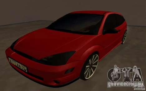 Ford Focus Light Tuning для GTA San Andreas