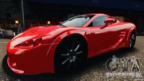 Ascari KZ1 v1.0 для GTA 4 вид сзади слева