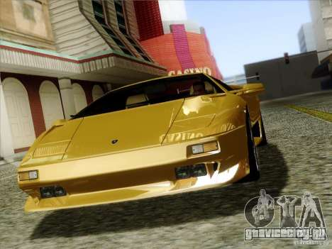 Lamborghini Diablo VT 1995 V3.0 для GTA San Andreas вид сбоку
