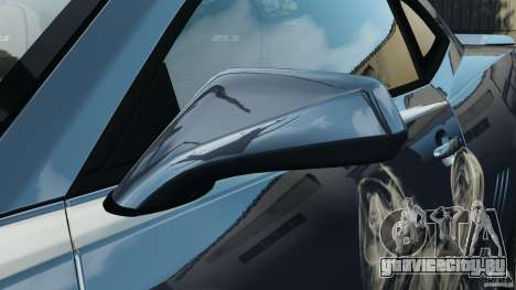 Chevrolet Camaro ZL1 2012 v1.0 Smoke Stripe для GTA 4 салон