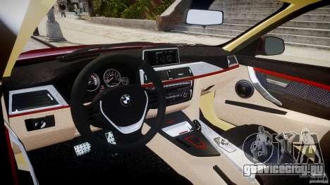 BMW 335i 2013 v1.0 для GTA 4 вид справа